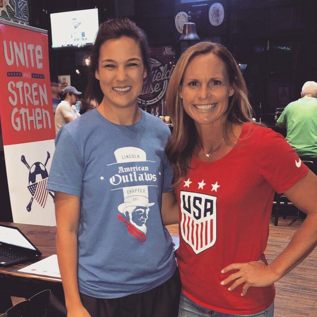 Maddie Schlotfeld and Christie Pearce